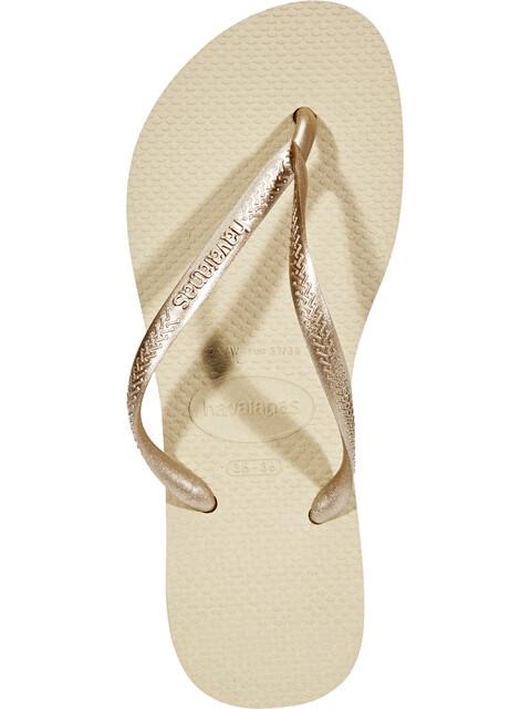 havaianas Slim Naiset sandaalit , beige
